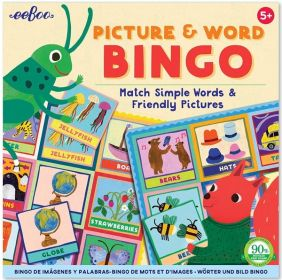 PICTURE & WORD BINGO GAME