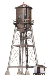 N RUSTIC WATER TOWER WITH LED-