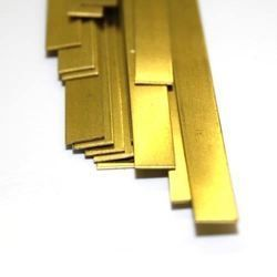 ".025"" X 1/4"" X 12"" BRASS STRIP"