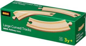 LARGE CURVED TRACKS