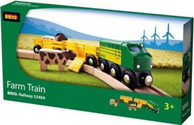 FARM TRAIN #33404 BY BRIO WOOD