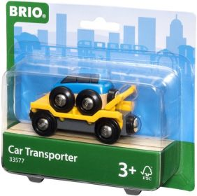CAR TRANSPORTER - BRIO RAILWAY