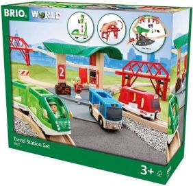 TRAVEL STATION RAILWAY SET