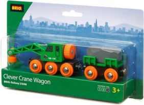 CLEVER CRANE WAGON #33698 BY B