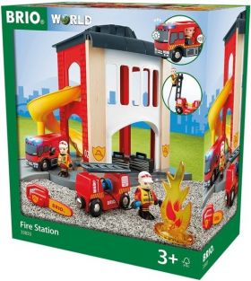 FIRE STATION-BRIO WORLD