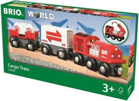 CARGO TRAIN-WOODEN RAILWAY