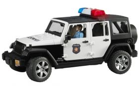 JEEP POLICE CAR WITH POLICEMAN