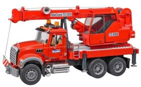 MACK GRANITE CRANE TRUCK WITH
