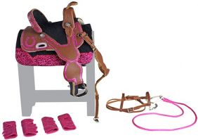 BARREL RACING TACK SET #2072 B