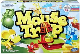 MOUSE TRAP BOARD GAME #C0431 B