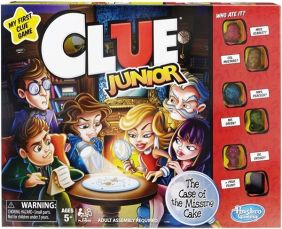CLUE JUNIOR GAME #C1293 BY HASBRO