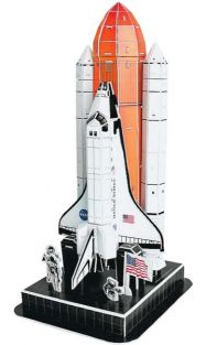 NASA SPACE SHUTTLE 3D 87PC