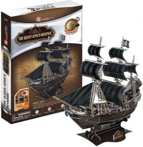 QUEEN ANNE'S REVENGE 155PC 3D