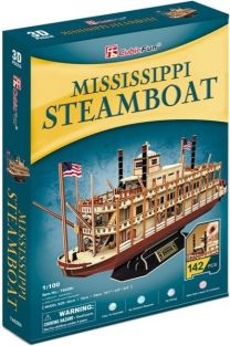 MISSISSIPPI STEAMBOAT 142-PIEC