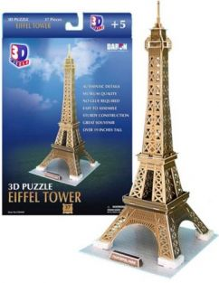 EIFFEL TOWER 37PC 3-D