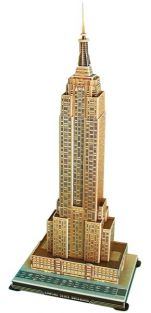 EMPIRE STATE BUILDING 55PC 3-D