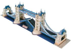 LONDON TOWER BRIDGE 118PC 3-D