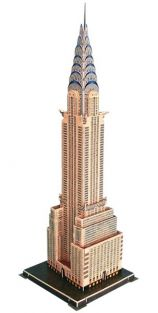 CHRYSLER BUILDING 70PC 3-D