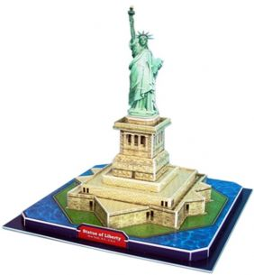 STATUE OF LIBERTY 39PC 3-D