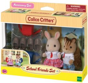 C/CRITTERS SCHOOL FRIENDS SET