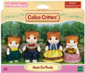 C/CRITTERS MAPLE CAT FAMILY