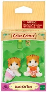 CALICO CRITTERS MAPLE CAT TWIN
