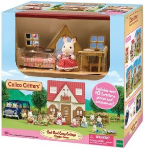 C/C RED ROOF COZY COTTAGE STARTER HOME