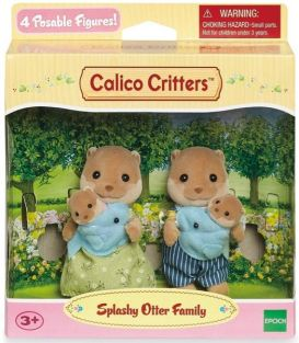 C/C SPLASHY OTTER FAMILY