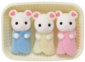 MARSHMALLOW MOUSE TRIPLETS