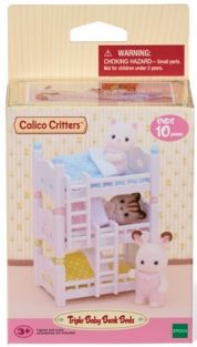 TRIPLE BABY BUNK BEDS #CC2624