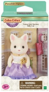 LULU SILK CAT-TOWN GIRL SERIES