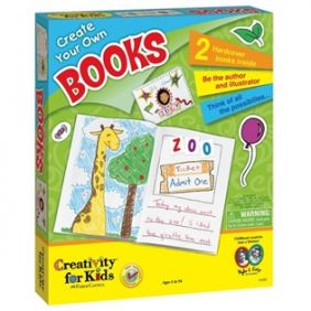 CREATE YOUR OWN BOOKS KIT