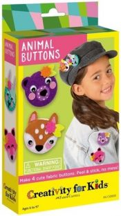 MAKE YOUR OWN ANIMAL BUTTONS K