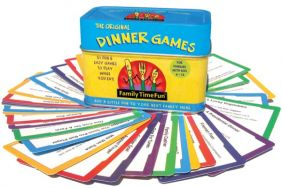 THE ORIGINAL DINNER GAMES FOR