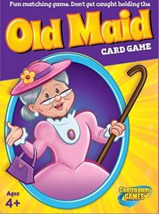 OLD MAID CARD GAME #1607 BY CO