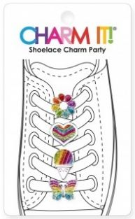 RAINBOW SHOELACE CHARM PARTY #