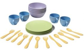 DISH SET #DSH01R BY GREEN TOYS