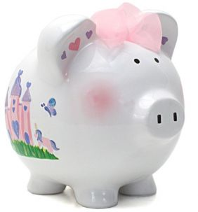 PRINCESS CASTLE PIGGY BANK