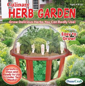 CULINARY HERB GARDEN DOME