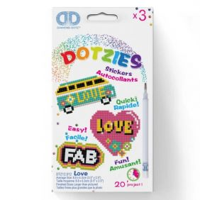 DOTZIES LOVE STICKERS