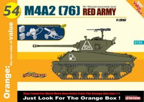 DRAGON 1/35 M4A2(76) RED ARMY