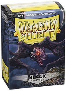 DRAGON SHIELDS: 100 MATTE BLAC