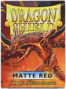 DRAGON SHIELDS: 100 MATTE RED