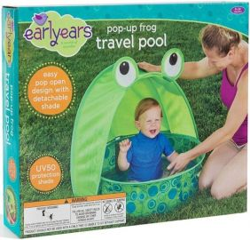 POP-UP FROG TRAVEL POOL #E0040