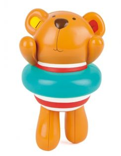 SWIMMER TEDDY WIND-UP TOY #E0204