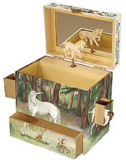 UNICORN MUSICAL TREASURE BOX #