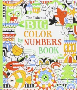 BIG COLOR BY NUMBERS BOOK