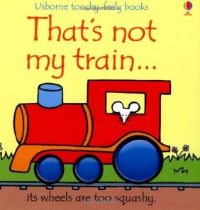THAT'S NOT MY TRAIN...TOUCHY-FEELY BOOK