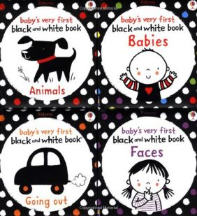 BABY'S/FIRST BLACK/WHITE BOOKS
