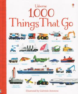 1,000 THINGS THAT GO BOOK